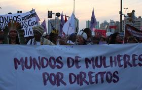 capa Marcha das mulheres